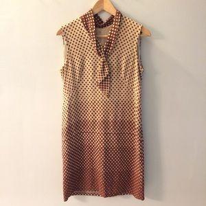 Vintage 1970s Sheath Dress